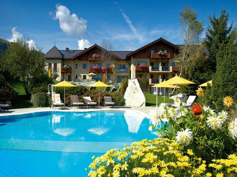 Der krallerhof bei leogang s wellnesshotel mit for Design hotel leogang