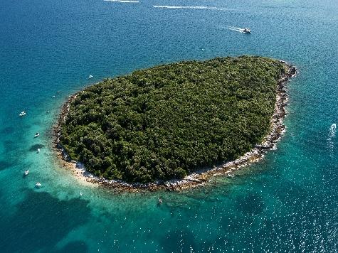 (c) Blick über eine der Inseln von Funtana (LVB Funtana)